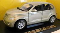 Motormax 1/18 Scale Diecast - 73100 Chrysler GT Cruiser gold