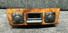MERCEDES S CLASS W220 CLIMATE HEATER CONTROL WITH WOODEN TRIM 2208301185