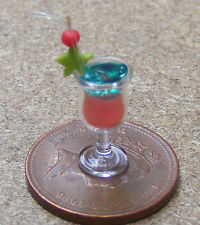 1:12 Scale Singapore Sling Cocktail Dolls House Miniature Drink Accessory CT19