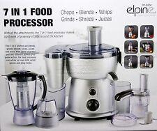7 in 1 380W Electric Multi Food Processor Blender With Chopper Jar Smoothie 440C