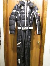 BOGNER WOMEN'S NAVY BLUE SKI SUIT SNOW SUIT SZ M NEW $2,278