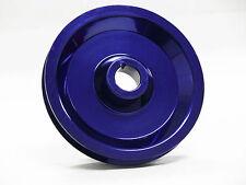 OBX Aluminum Crank Pulley Fits 96 97 98 99 00 Civic 1.6L SOHC Blue