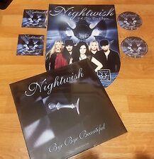 NIGHTWISH LP Bye.Picture Disc 2008 + Promo Set Dark Passion.2007-WHITHIN-MAIDEN