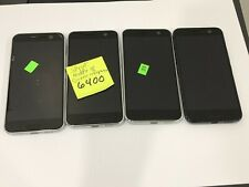 lot of 4 HTC 10 M10 32GB 4GB RAM GSM  Android Smartphone mix networks GSM as is