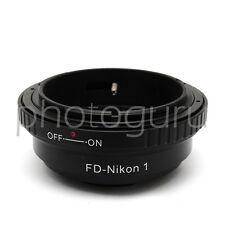 Anello adattatore obiettivi CANON FD su fotocamera NIKON 1 J3 J4 S1 S2 AW1 J5