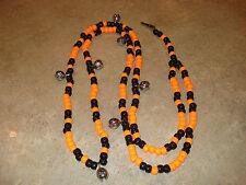 Black & Orange Rhythm Beads