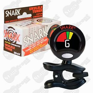 SNARK CLIP-ON CHROMATIC UKULELE TUNER WSN6X HIGH RESOLUTION AND ACCURACY **NEW**