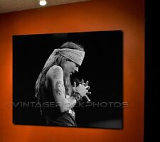 Axl Rose Guns n Roses 20X30 inch Fine Art Gallery Canvas Print Photo Framed 9