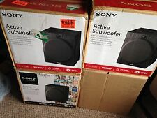 ONE (1) SONY SA-W2500 ACTIVE SUBWOOFER WITH ACTIVE MOTION FEEDBACK - NICE SOUND