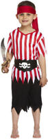BOYS PIRATE FANCY DRESS COSTUME DECKHAND KIDS CHILDS OUTFIT CAPTAIN BOOK DAY