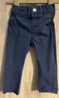Boys Age 6-9 Months - Next Navy Trousers