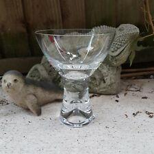 Iittalla Tapio Wirkka Finland Bubble Stem Cocktail Champagne Martini Glass