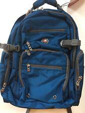 """Wenger Breaker 16"""" Laptop Backpack W/ Tablet - Ereader Pocket -- Blueprint Blue"""
