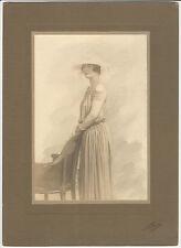 Gaspard Felix Tournachon Nadar Vintage Hand Tinted Photo Portrait Woman Paul
