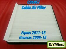 C36067 High Quality Cabin Air Filter for Equus 2011-15 & Genesis 2009-15