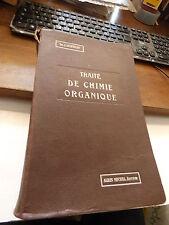 traité de chimie organique - Dr Julius Schmidt - 1928 -  albin michel