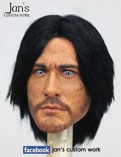 1/6 Hot CUSTOM REPAINT REHAIR toys Prince of Persia Dastan Jake Gyllenhaal head