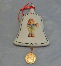 "2008 Goebel Hummel ""Ring In The Season"" Bell Ornament"