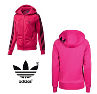 Veste Adidas Originals Rare Girly Zip Hooded Aop Firebird Jacket W67559 Rose 36