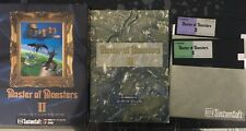 Master of Monsters II PC-9801 Computer Video Game Japan Import Vintage Complete