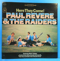 PAUL REVERE & THE RAIDERS HERE THEY COME LP 1965 GREAT CONDITION! VG++/VG+!!B