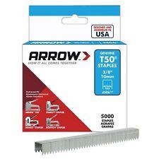 Arrow A506IP T50 Staples, Steel, 3/8 Inch (10 mm) 1