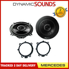 Pioneer 130mm Front Door Speaker Upgrade Kit For Mercedes Sprinter, Viano, Vito