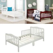 Toddler Bed With Bed Rails Safety Kids Bedroom Furniture