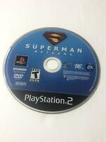 Superman Returns: The Video Game (Sony PlayStation 2, 2006) PS2 - DISC ONLY