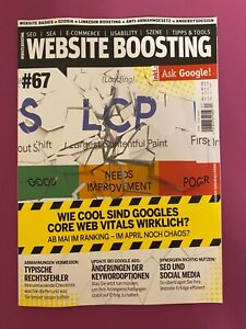 Website Boosting 5-6/2021 #67 Wie cool sind Googles Core Web Vitals wirklich NEU