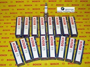 Mercedes-Benz 16 Piece Spark Plug Set - BOSCH - 0242230500, FR8DPP33+, 7422