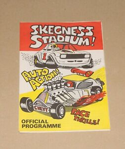 1979 Skegness Brisca F1 & F2 stock car programme, 21 October (Winternationals)