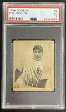 1948 Bowman Phil Rizzuto PSA 3 ROOKIE NY Yankees RC #8 Scooter Blony Bubble Gum