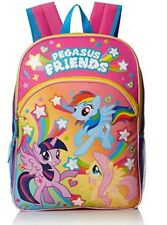 My Little Pony Girls Pegasus Friends 16 Inch Backpack With Lights Pink Tax