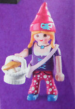 PLAYMOBIL 70243 Figures Girls Serie 17, Zwergin Zwergen-Frau Korb Pilz  # 11 NEU