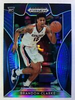 2019-20 Panini Prizm Draft Picks Blue Brandon Clarke Rookie RC #20, Grizzlies