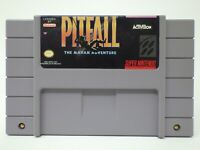 Pitfall The Mayan Adventure - Super Nintendo SNES Clean Tested Authentic
