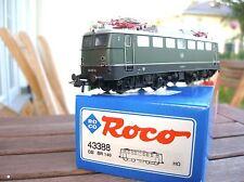 ROCO 43388 LOCOMOTORA ELÉCTRICA BR 140 167-8 DB Ep 4. neuwertig en emb.orig. con