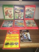 Intellivision Game Lot Of 6 With 1986 Fall Catalog