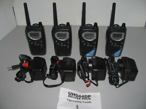 Uniden UHO44DP 40 Ch 2 Watt Hand Held CB Radio Four Pack As New Fully Tested