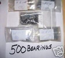 Indian Chief Motor Bearing Rebuild Kit 500 Bearings 16A15 New 5 Sizes (256)