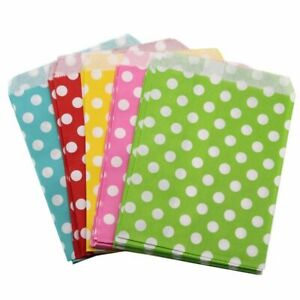 100Pcs Candy Food Kraft Paper Bags Packaging Bag Wedding Decoration Gift Wrapper