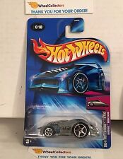 Hardnoze Dodge Neon #18 * ZAMAC * 2004 Hot Wheels * A12