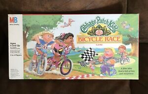 Vintage Cabbage Patch Kids Bicycle Race Game Sealed 1990