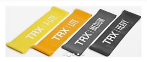 Set of 4 TRX Exercise Bands Yoga Crossfit Fitness Pilates Exercise Workout