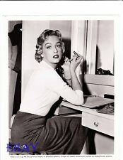 Leigh Snowden w/lipstick VINTAGE Photo Outside The Law candid on set