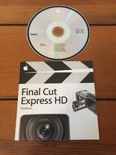 Apple Mac Final Cut Express HD Install Video Editing Software Disc CD v3.5 2006