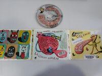 ANDRES CALAMARO LA LENGUA POPULAR CD 2007 WARNER DIGIPACK CARTON DESPLEGABLE