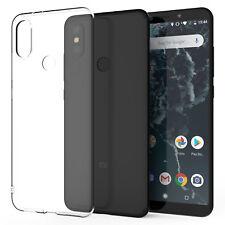 Xiaomi Mi A2 Case, Slim Crystal Clear Transparent Best Silicone Gel Phone Cover