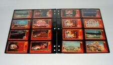 (22) VINTAGE SPRINT & McDONALDS PHONE CARDS - RACING - TOKYO - GOLD RAY KROC
